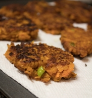 Cooked Sweet Potato Patties